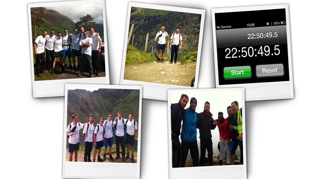 3 Peaks Challenge 2013